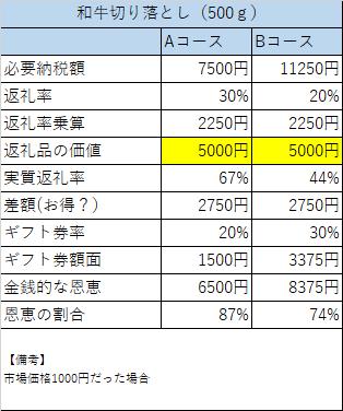 泉佐野市 ふるさと納税 300億円限定キャンペーンの比較