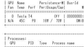 NVIDIA Tesla T4が使えるColaboratory